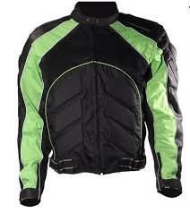 motorcycle racing jacket and green armor motocross motorcycle racing jacket