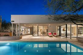 home with pool contemporary paradise valley home designed by famed architect