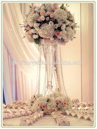 Crystal Flower Vases Trumpet Glass Vase For Party Events Crystal Glass Flower Vases For