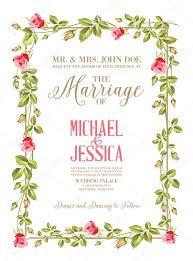 marriage card marriage card stock vector kotkoa 61554185