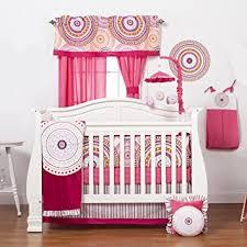 Pink And Black Crib Bedding Sets One Grace Place Infant Crib Bedding Set