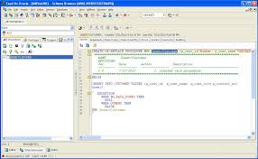 Oracle Create Table Example How To Create Oracle Stored Procedures Using Toad For Oracle
