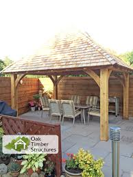 2 X 2 Metre Gazebo by Solid Oak Gazebos Oak Timber Structures