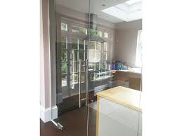 glass partitioning at domestic property mapesbury london glass