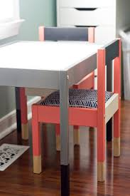 childrens table and stools 25 best ikea hacks for kids