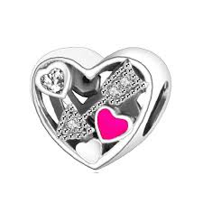 s day charms s day 2017 charms 925 sterling silver heart arrow bead fit