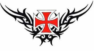 maltese cross tattoos maltese cross tattoo with flames and more