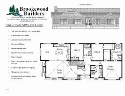 ranch home floor plans with walkout basement lovely floor plans for ranch homes with walkout basement floor plan
