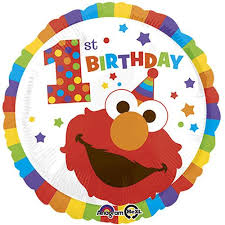 elmo sesame street happy birthday authentic licensed theme foil balloo