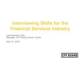 Best Resume For Kpo by Interviewing Skills For The Financial Services Industry Youtube