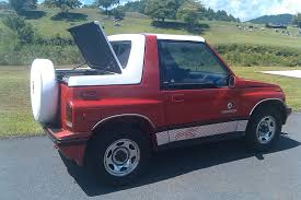 suzuki samurai truck suzuki sidekick hardtop from rally tops custom fiberglass top shop