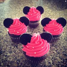 minnie mouse cupcakes minnie mouse mini cupcakes chocolate cake with pink buttercream