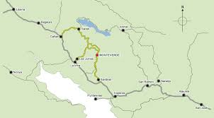 san jose costa rica on map map of northwest costa rica and how to get to monteverde