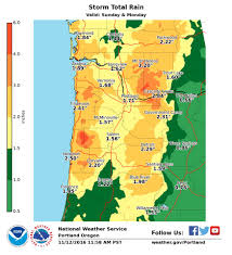 Portland Flooding Map by Nws Portland On Twitter
