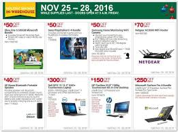 costco s black friday 2016 ad leaks discounts on ps4s computers