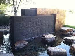 portico wall garden water fountain natural contemporary modern