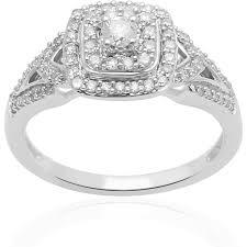 diamond rings always u0026 forever platinaire 3 8 carat t w diamond quad engagement
