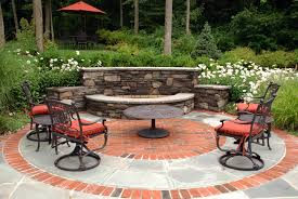 Landscape Fire Pits by Outdoor Fireplace Fire Pit Design Installation Northern Nj