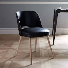 Dining Room Chairs Leather by Lloyd Leather Dining Chair West Elm
