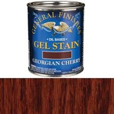 how much gel stain do i need for kitchen cabinets general finishes georgian cherry gel stain solvent based pint