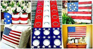 patriotic decorations 30 diy 4th of july decorations patriotic diy fourth of july