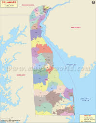 California Zip Code Map by Delaware Zip Code Map Delaware Postal Code
