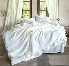 duvet cover linen cotton rough linen orkney duvet cover washed