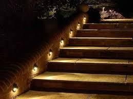 exterior deck stair lights