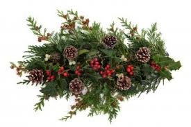 15476610 winter and christmas decorative floral arrangement of