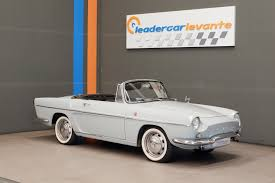 renault caravelle 1965 renault caravelle 1100 1965 classic driver market