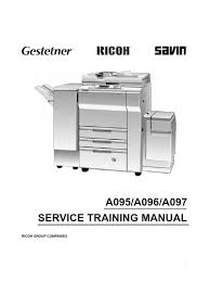 manual service ricoh 6645 6655 6665 1 scanning tunneling