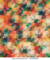 Warm Colors Warm Colors Seamless Pattern Trendy Color Stock Vector 452459890