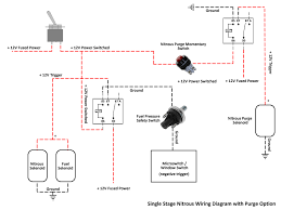single stage nitrous wiring diagram with purge option u2022 meth and