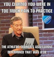 Trainer Meme - 4 situations every athletic trainer deals with in wrestling matguard