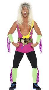 Wwe Halloween Costumes Adults Wwe Retro Wrestler Costume Smiffys 27561 Karnival Costumes