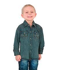 kids u0027 western wear u0026 clothing wrangler