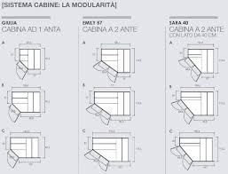 armadio angolare misure emily cabine dielle camerette armadio la