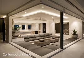contemporary livingroom sydney interior design contemporary livingroom with lighting roof