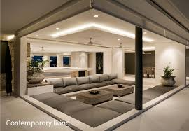 sydney interior design contemporary livingroom with lighting roof