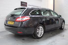 used peugeot estate used peugeot 508 16 hdi 112 active 30per year road tax pan roof