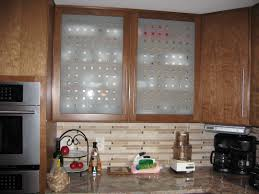 kitchen awesome frosted glass kitchen cabinet door decor with