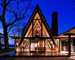 what is an a frame house a frame house triangle house house and architecture