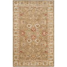 Safavieh Rugs Review Safavieh Antiquity Brown Beige 5 Ft X 8 Ft Area Rug At822b 5