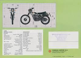 xt500 dave u0027s bike brochures