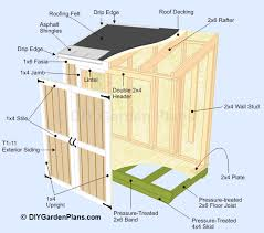lean to shed plans the easiest to follow shed plans online shed