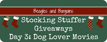 stocking stuffer giveaway day 3 movies for dog lovers beagles