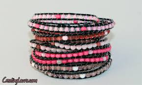 wrap bracelet with beads images Creating laura beaded wrap bracelets png