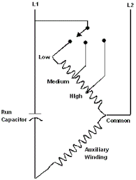 permanent split capacitor motor connection diagram for multiple