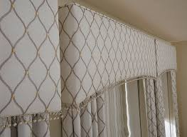 upholstered cornices drapery connection