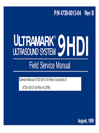 atl ultramark 9hdi service manual 1 video 2 d computer graphics